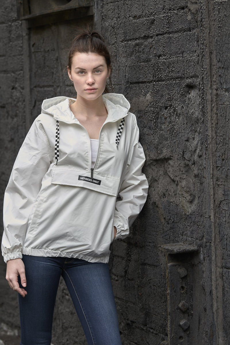 Clearance - Women's Poly Taslon Pullover Jacket with hood