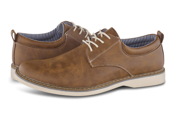 Men's Plain Toe Oxford Shoes