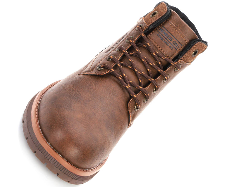 Men's Round Toe Boots - Coming Soon Shoe Members Only Official