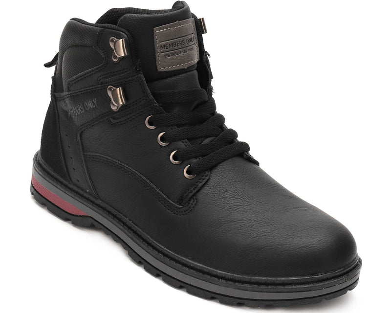 Buy Black Men's Round Toe Boots