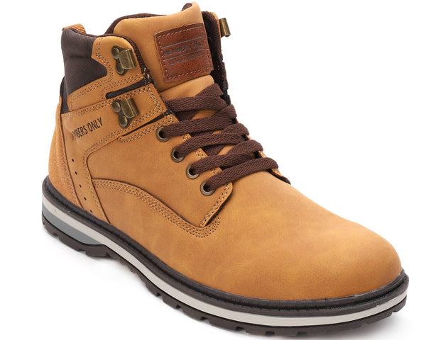 Men Round Toe Boot Members Only