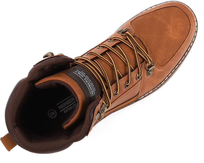 Shop Members Only Men's Moc-Toe Boots