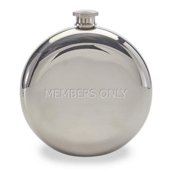 Members Only Stainless Steel Flask - Members Only Official