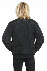 Boy's Oval Quilted Iconic Bomber