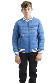 Boy's Down Blend Quilted Bomber Jacket - Members Only® Official