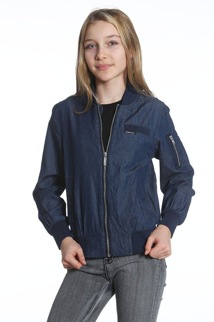 Girl's Cotton Bomber