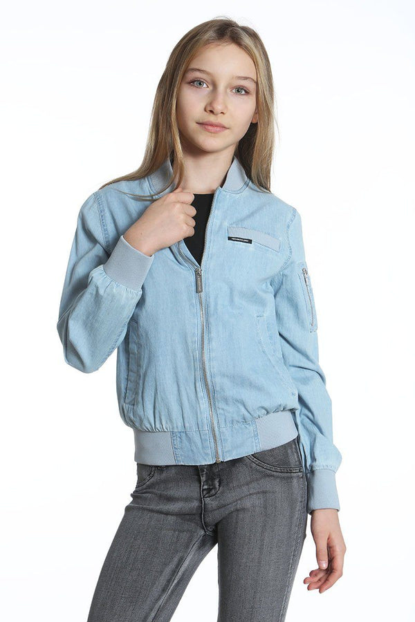 Girl's Cotton Bomber Jacket - Members Onlyå¨ Official