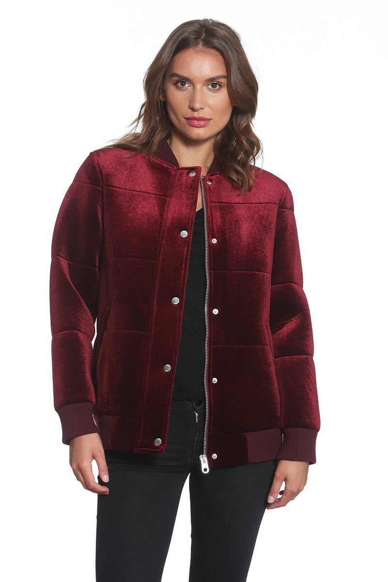 Women's Velvet Bomber - Members Only Official