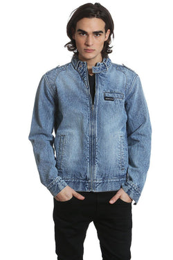 Men's Denim Jacket - Members Only Official