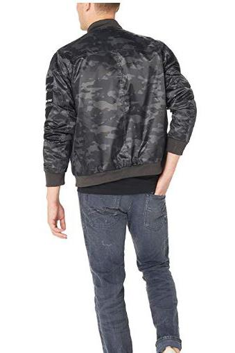 Men's Flight Satin Twill Hooded Jacket - Members Only Official