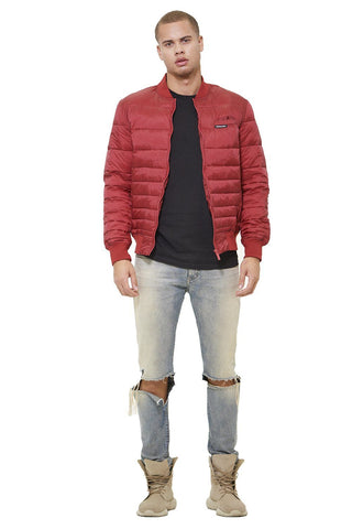 Men's Solid Puffer Jacket - Members Only® Official