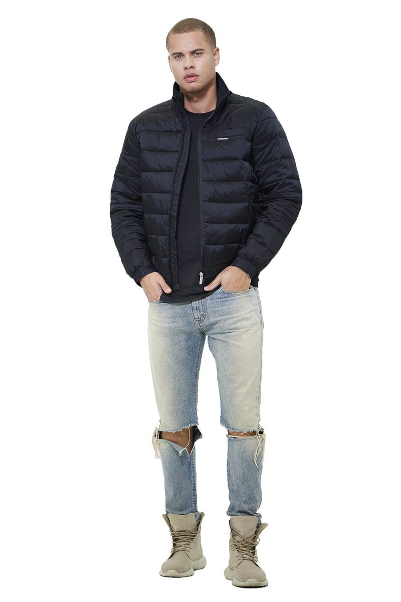 Moto Puffer Jacket for Men - Members Only