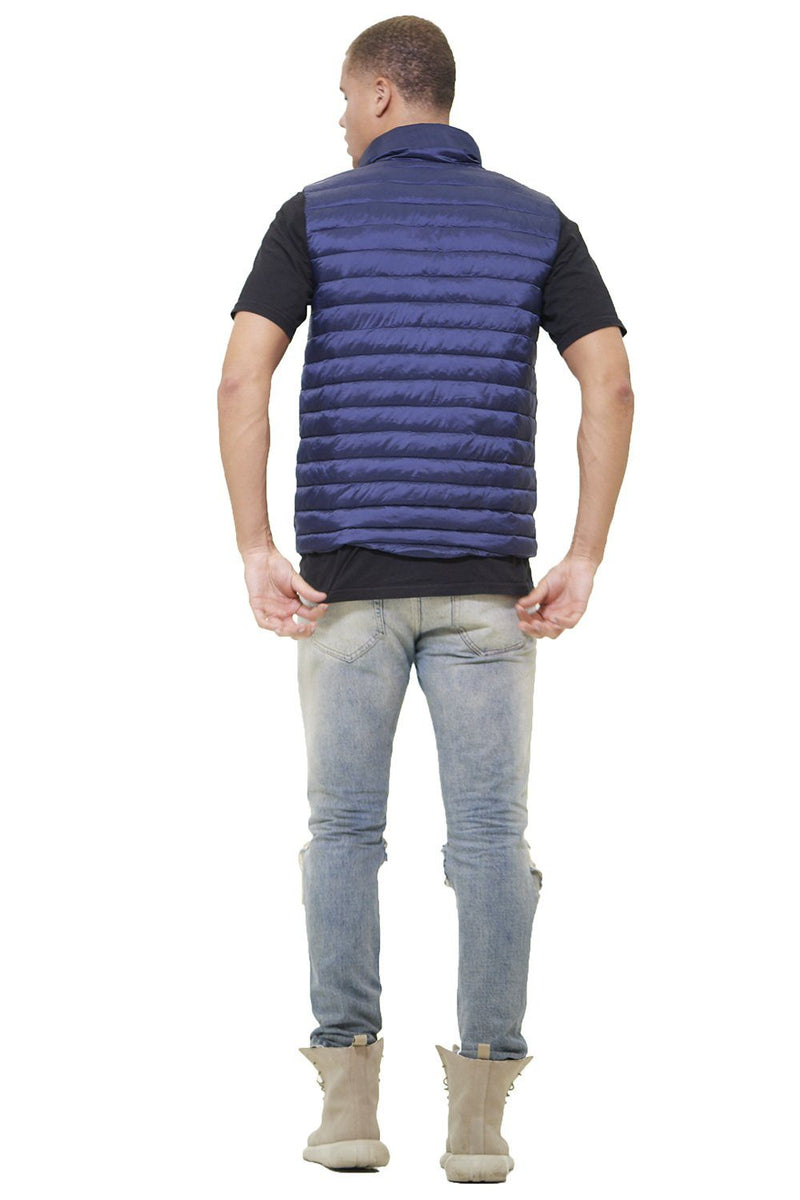 Men's Puffer Vest Jacket - Members Only Official