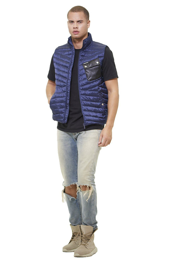 Men's Puffer Vest Jacket - Members Onlyå¨ Official
