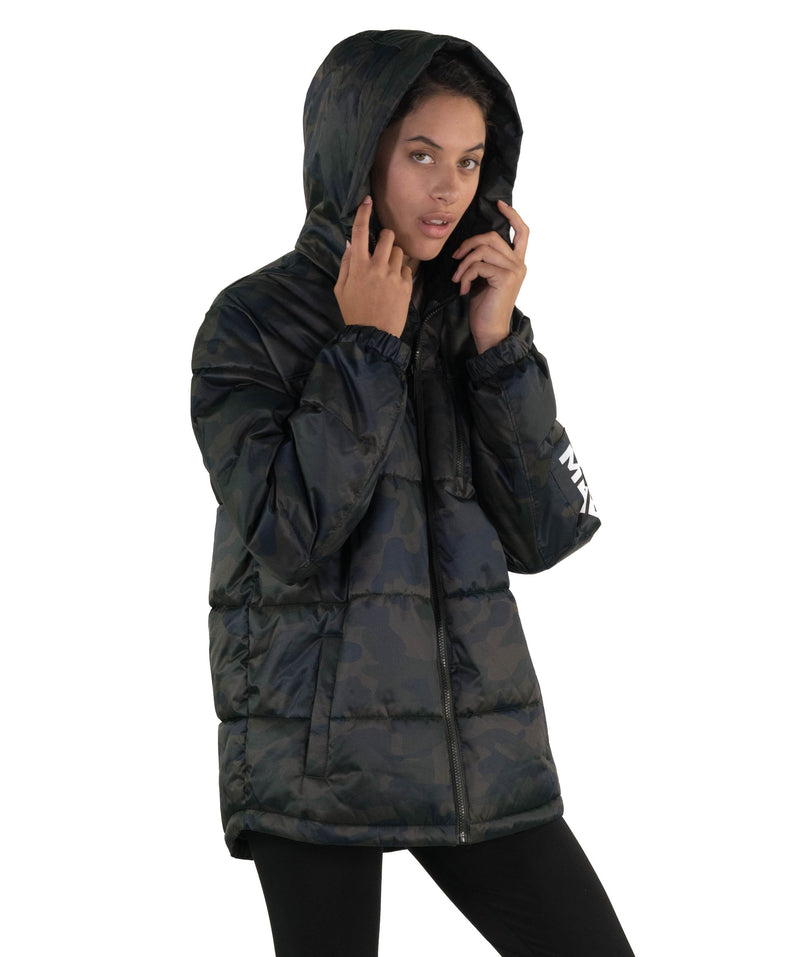 Hooded Puffer Jackets