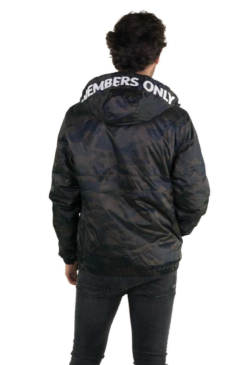 Members Only  Camo Popover Jacket for Men