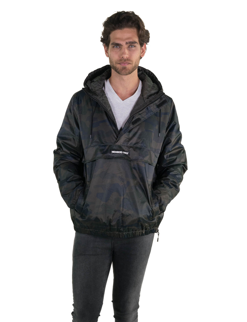 Men's Camo Popover Jacket