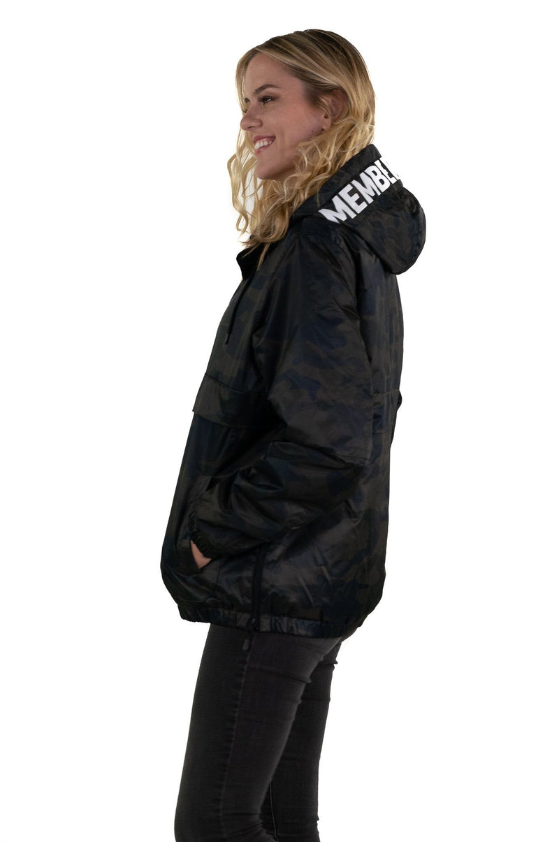 Men's Camo Popover Jacket for Women