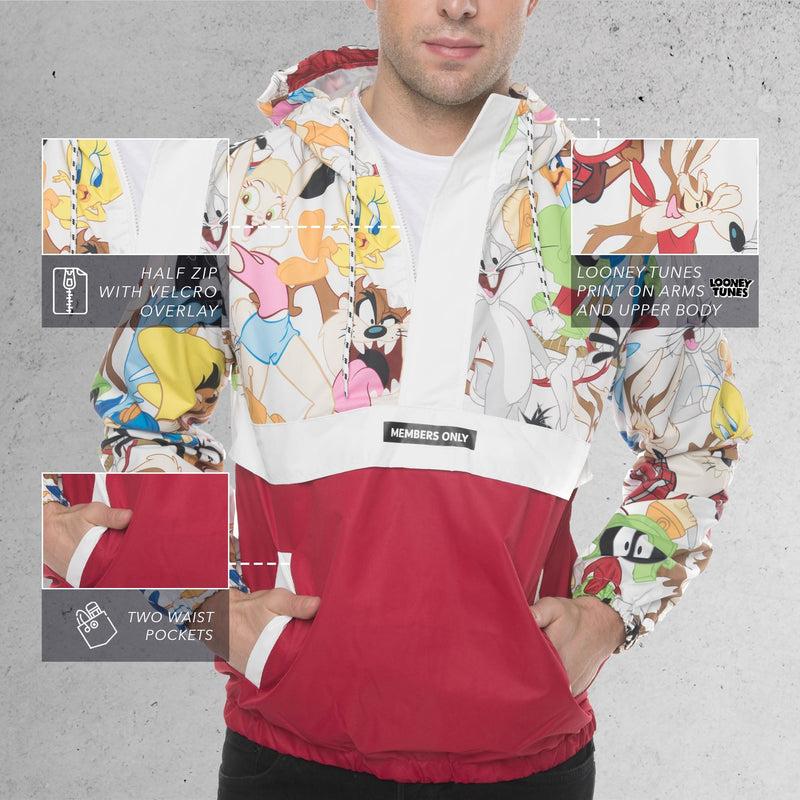 Looney Tunes Collab Popover Jacket for Men