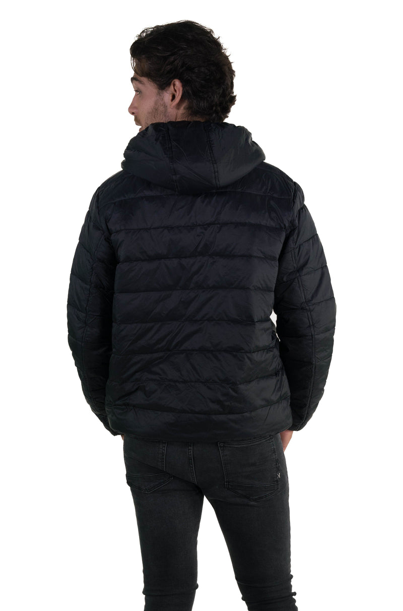 Men's Popover Puffer Jacket Back