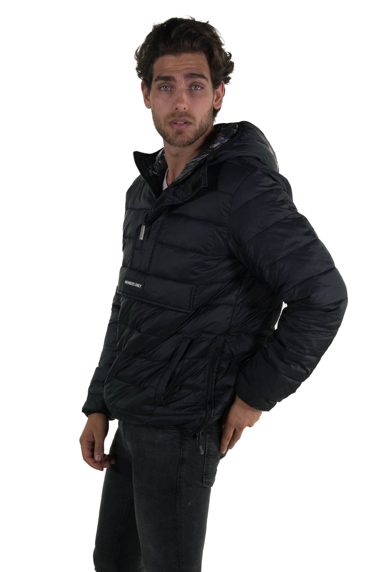 Popover Puffer Jacket For Men