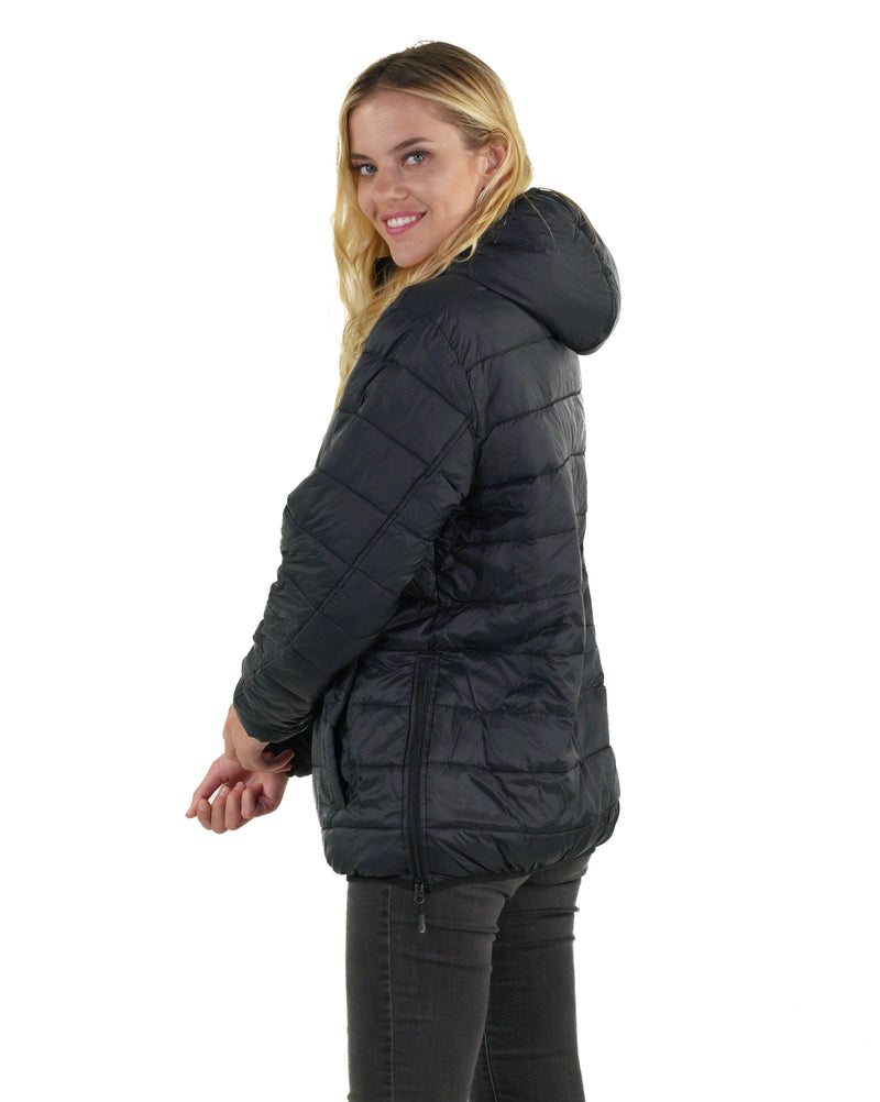 Men's Popover Puffer Jacket for Women - Members Only