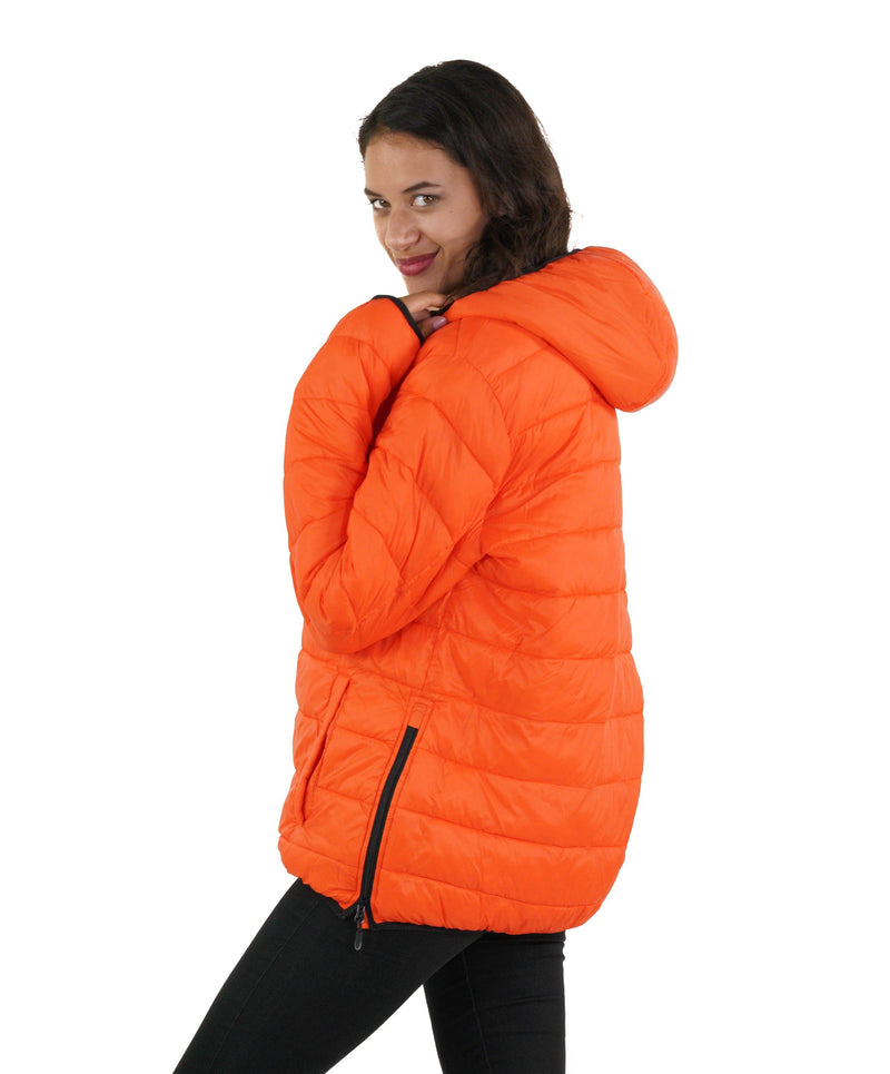 Men's Popover Puffer Jacket for Women