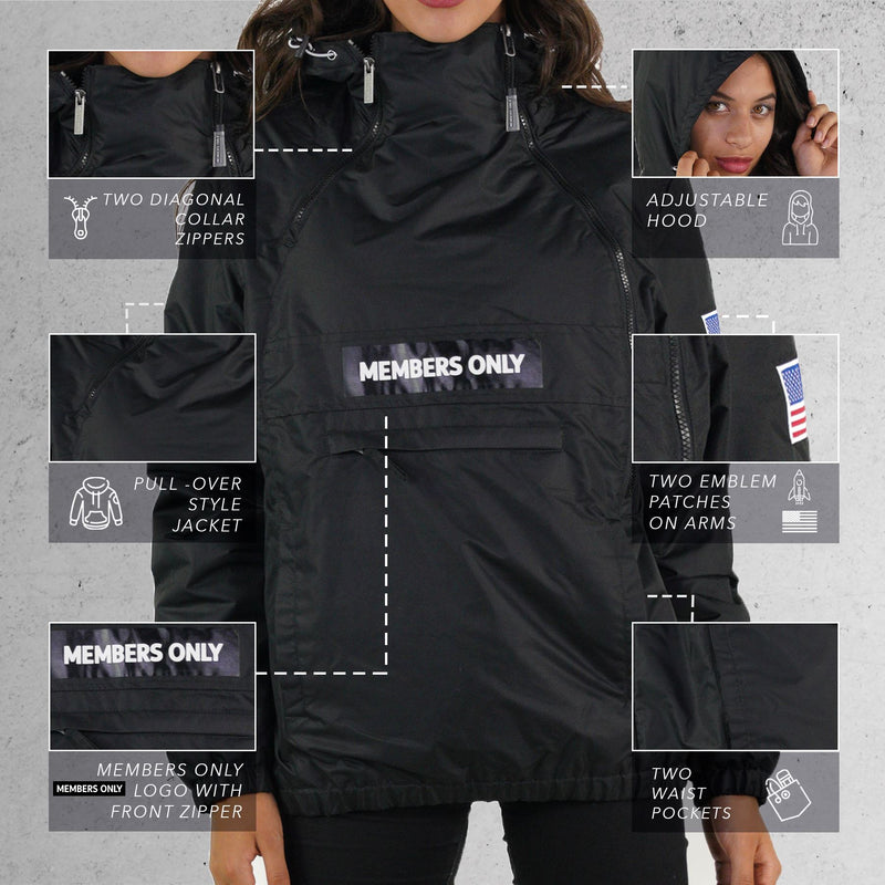 Men's Nasa Windbreaker Women Jacket