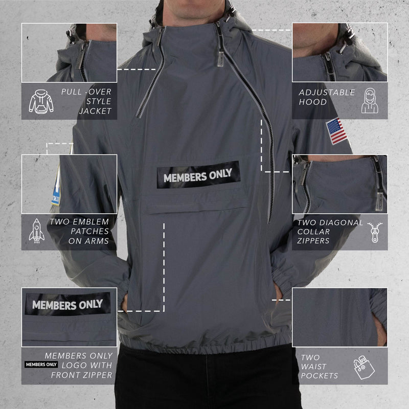 NASA Windbreaker Jacket for mens