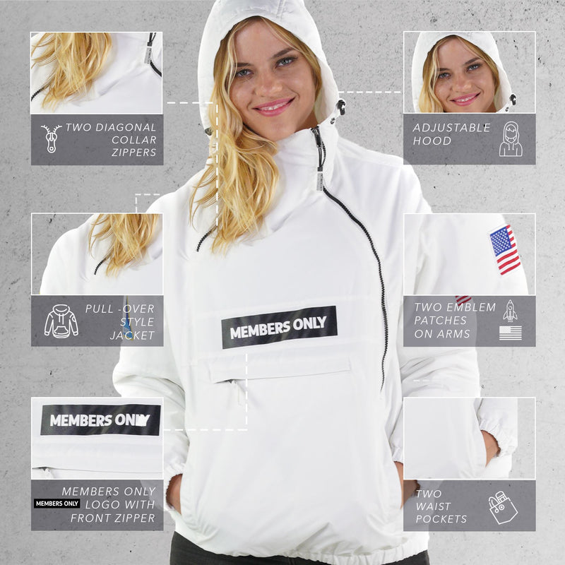 Buy Men's Nasa Windbreaker Jacket for Women