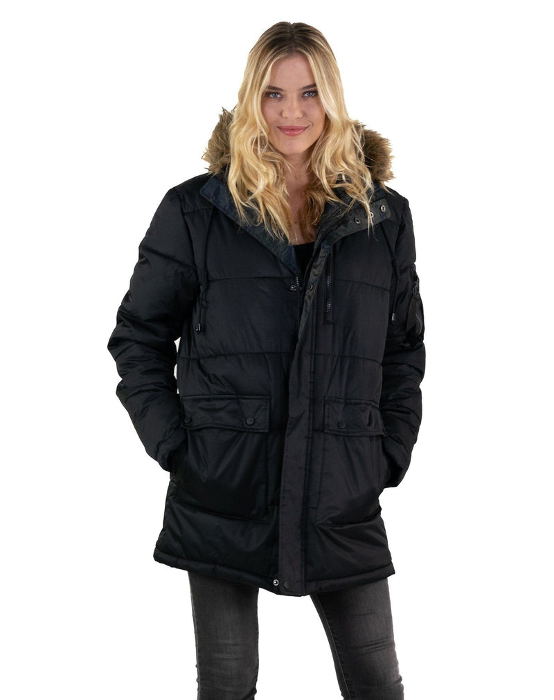 Men's Snorkel Puffer Jacket for Women - Members Only