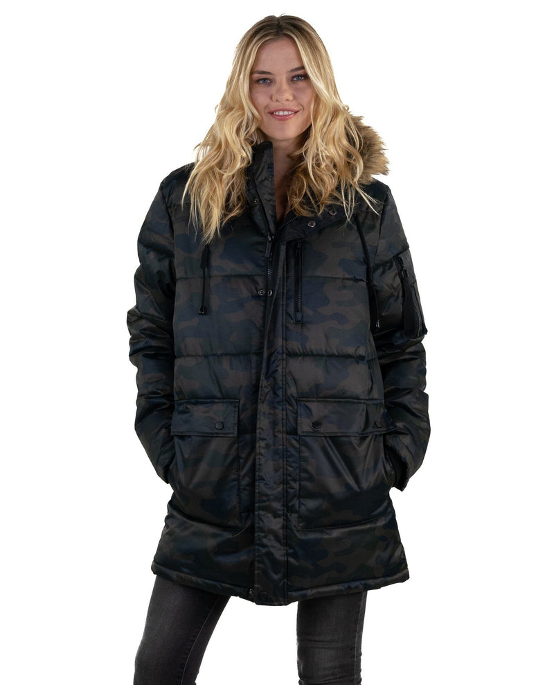 Men's Snorkel Puffer Jacket for Women