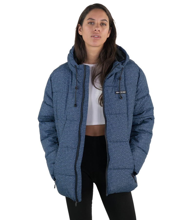 Hooded Puffer Jacket for Women