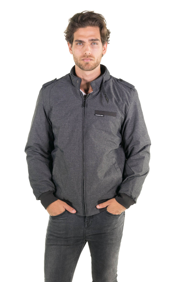 Men's Iconic Racer Heather Jacket