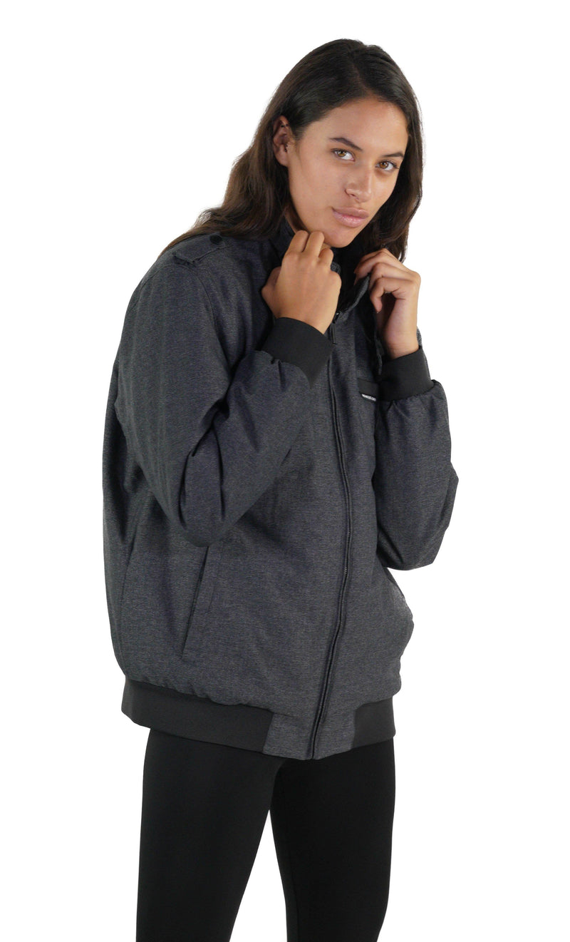 Buy Men's Iconic Racer Heather Jacket for Women