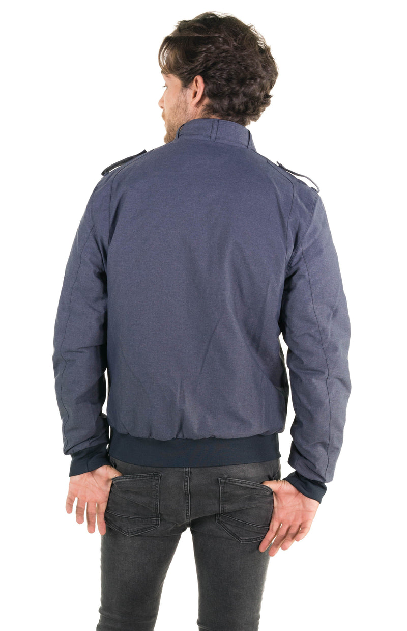 Shop Men's Iconic Racer Heather Jacket