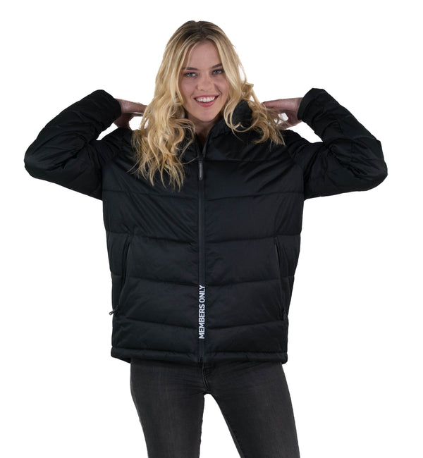 Women Puffer Jacket  Black