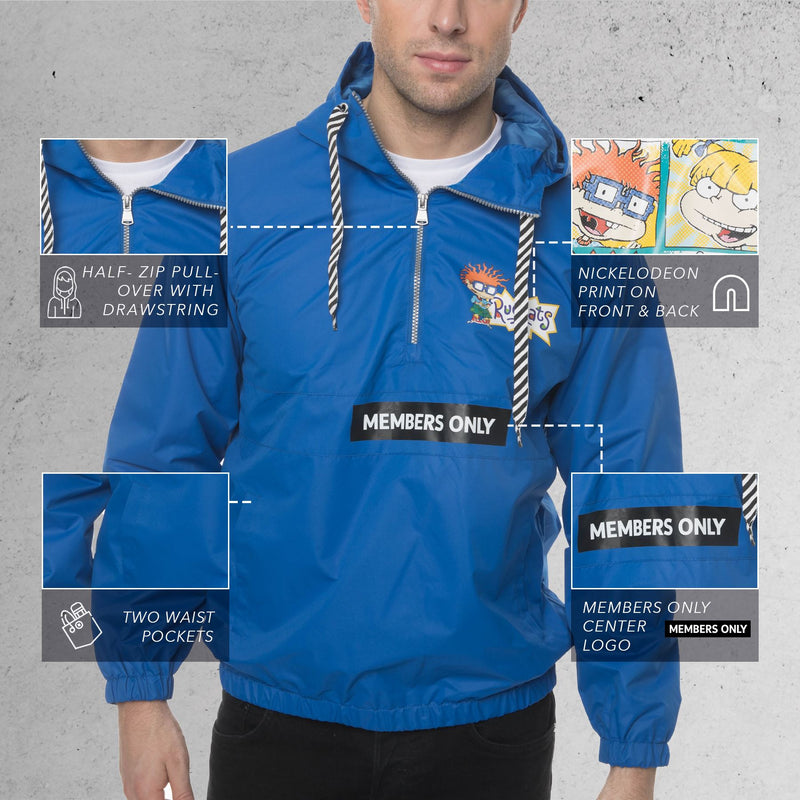Nickelodeon Collab Popover Jacket For Men