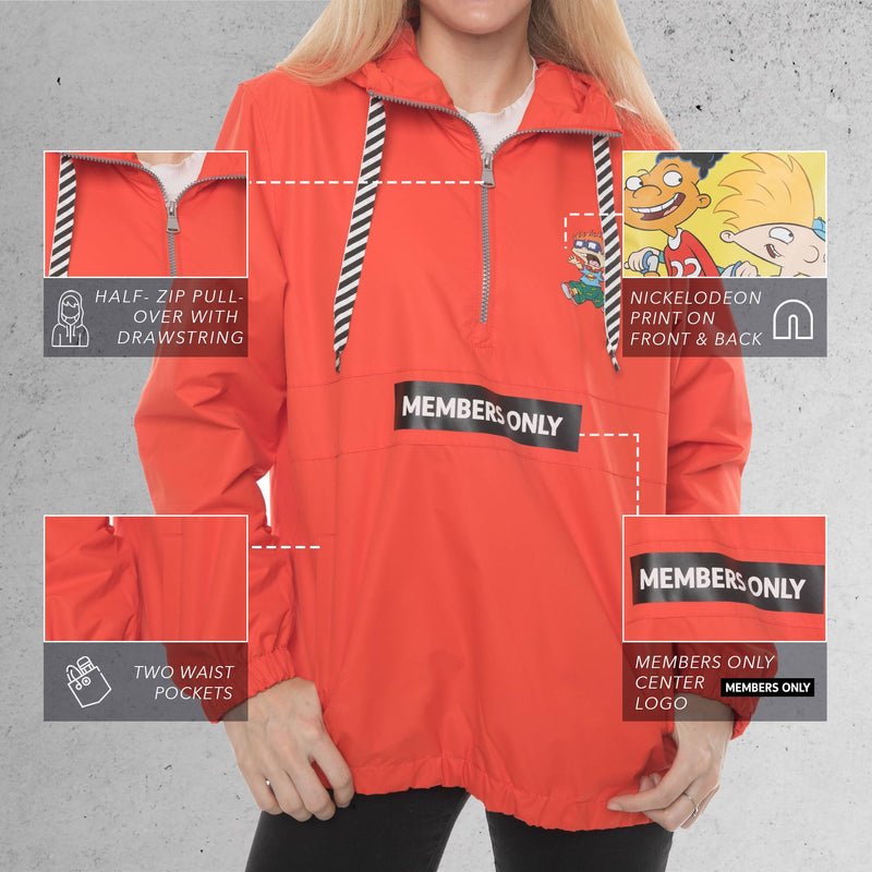 Nickelodeon Collab Popover Women Jacket