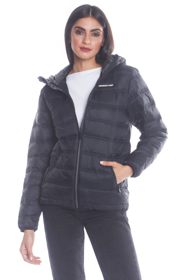Men's Solid Packable Jacket For Women Unisex Members Only Official