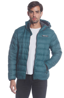 Men's Solid Packable Jacket Unisex Members Only Official DEEP SEA Small