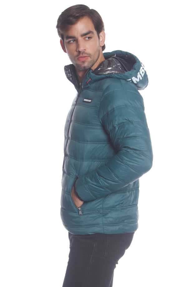Men's Solid Packable Jacket SIde