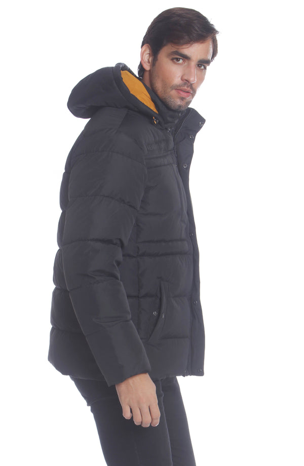 Men's Utility Puffer Jacket Unisex Members Only Official