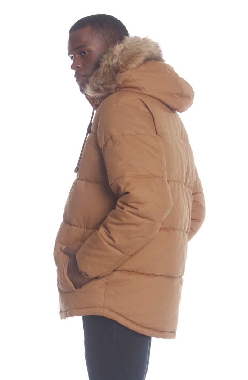 Shop Men's Cotton Puffer Jacket Unisex Members Only