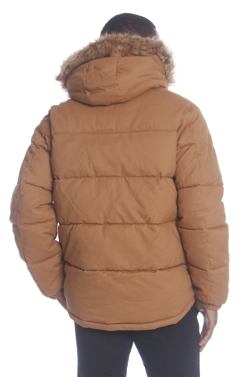 Buy Men's Cotton Puffer Jacket Unisex Members Only