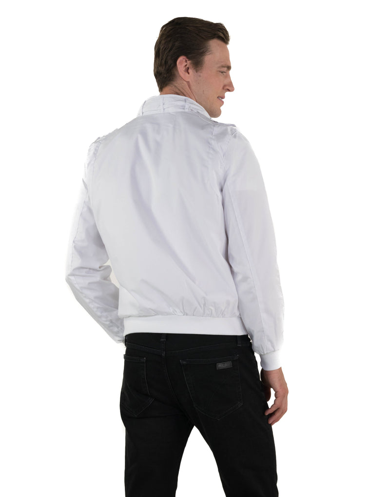 Men's Classic Iconic Racer Jacket (Slim Fit) Unisex Members Only