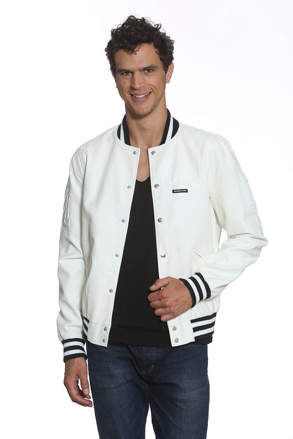 Men's Bleeker Varsity Jacket - Members Only Official