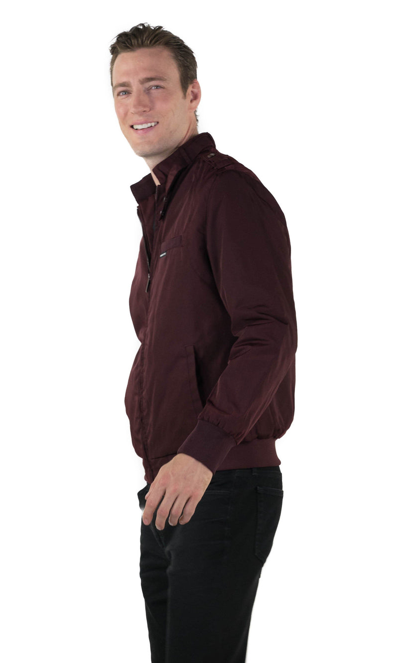 Men's Heavy Iconic Racer Quilted Lining Jacket (SLIM FIT)