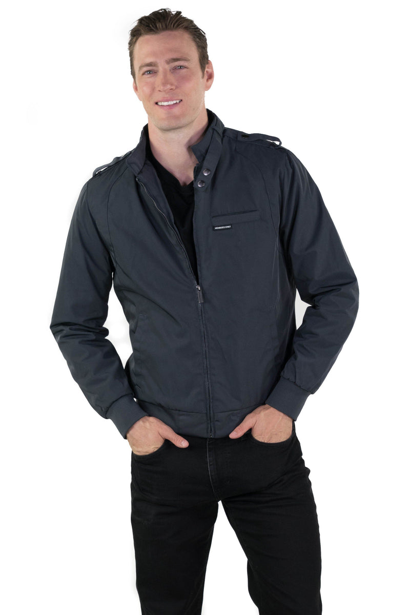 Shop  Mens Heavy Iconic Racer Quilted Lining Jacket Online