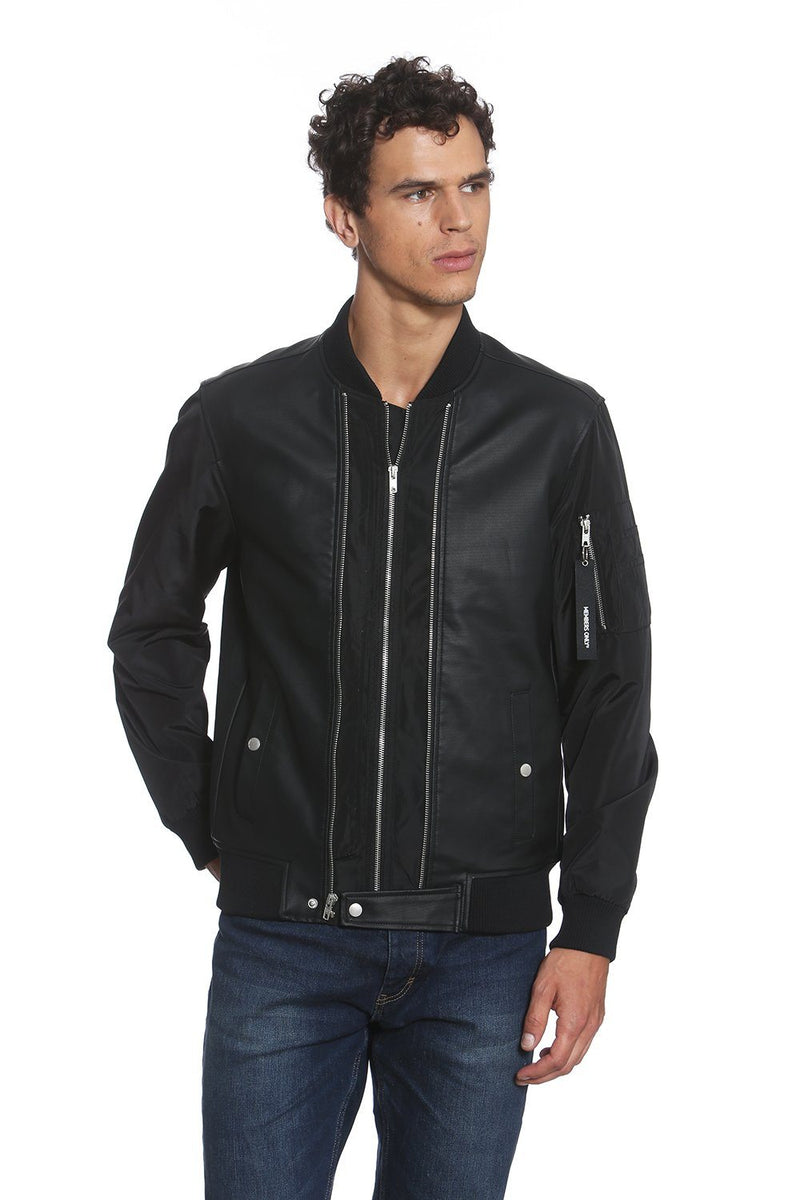 Men's Uptown Bomber Jacket - Members Only Official